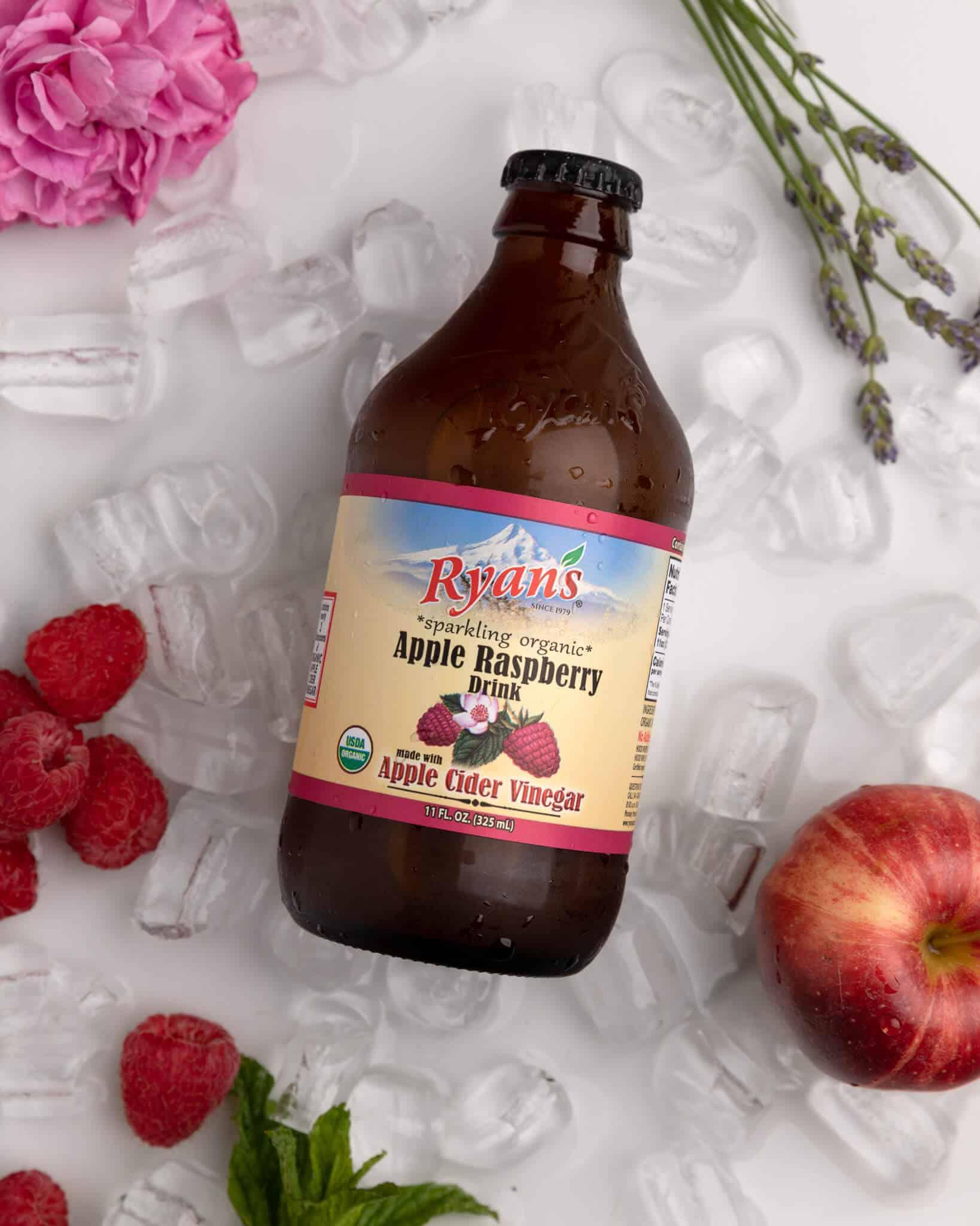 Fresh Fruit Juices - Ryan's Raspberry Sparkling Vinegar Drink