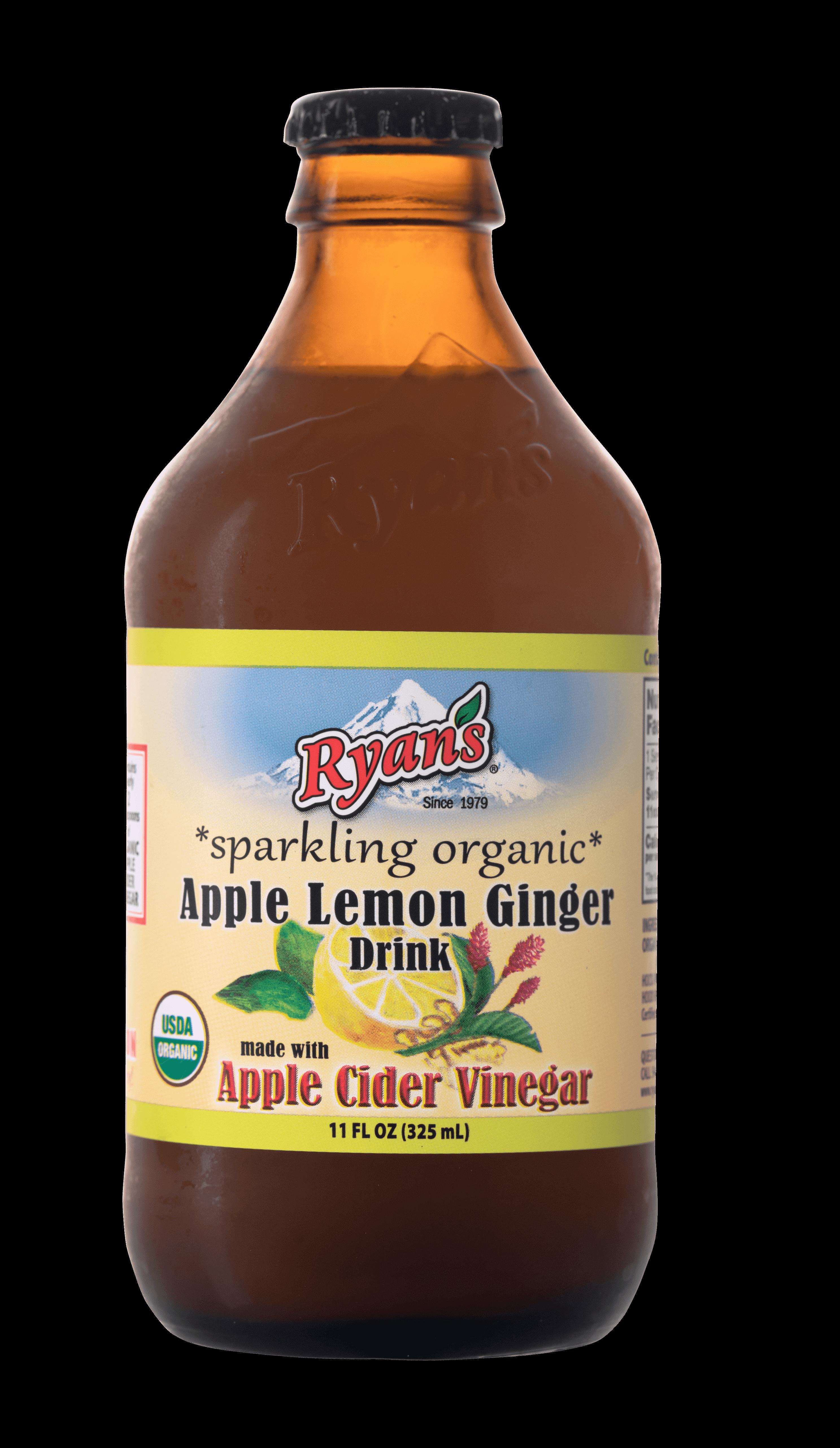 Ryan's Lemon Ginger Sparkling Vinegar