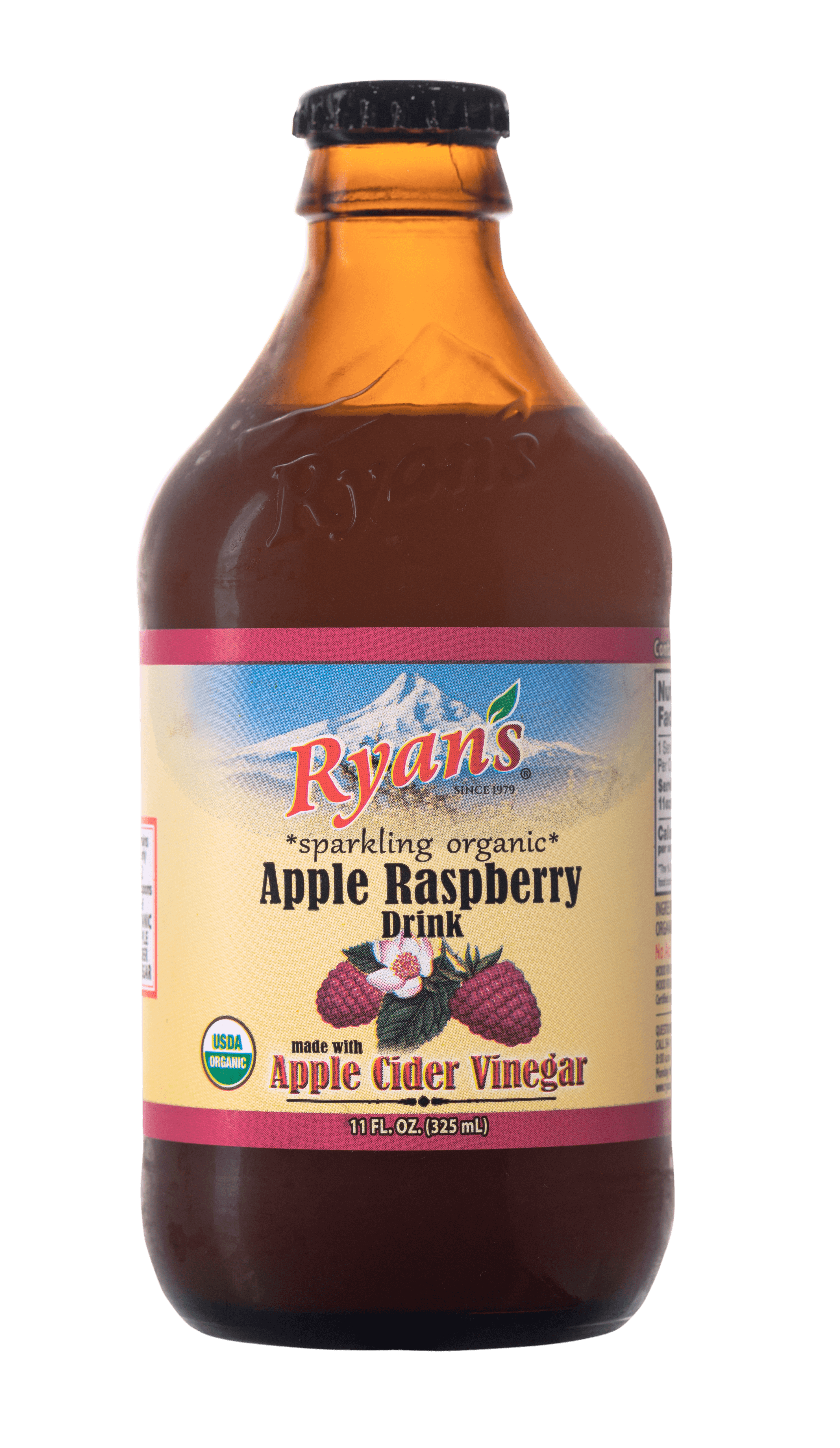 Ryan's Raspberry Sparkling Vinegar