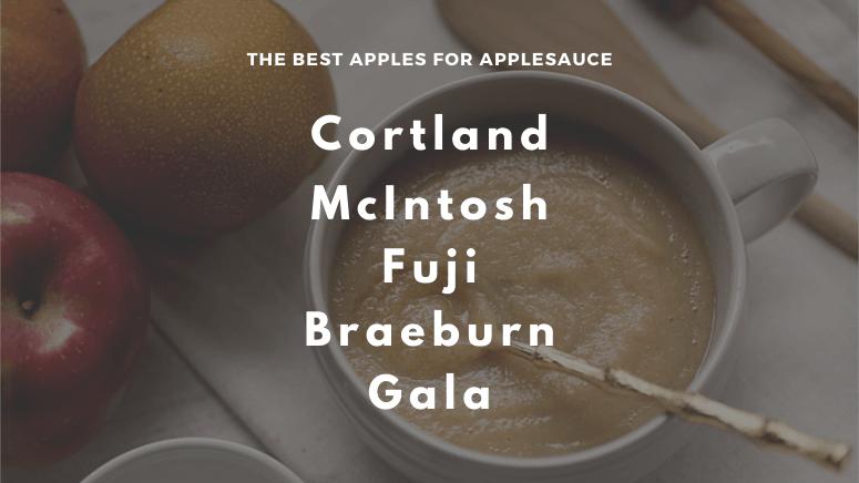 The best apples for applesauce