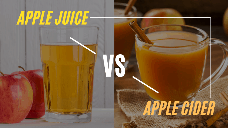 What is the difference between Apple Cider and Apple Juice?