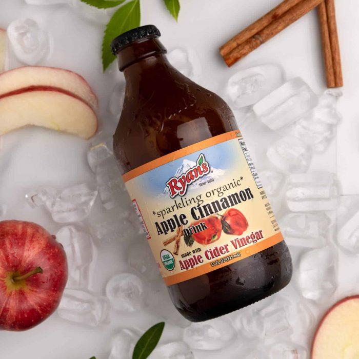 Fresh Fruit Juices - Ryan's Apple Cinnamon Sparkling Vinegar Drink